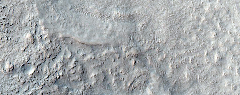 Transition from Mid to High Latitude in Terra Cimmeria