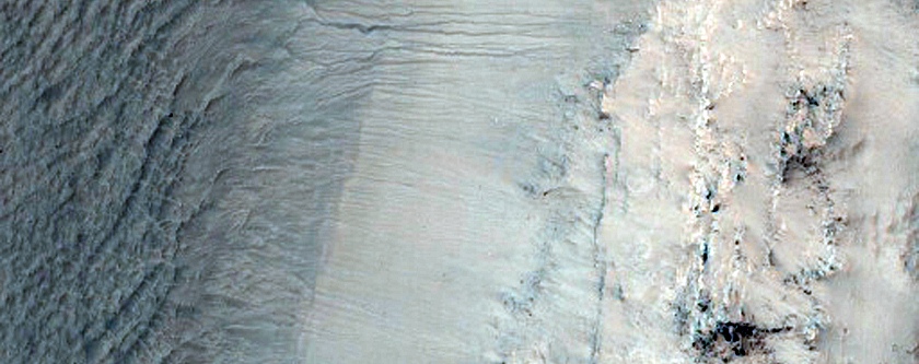 Gullies with Extensive Debris Aprons