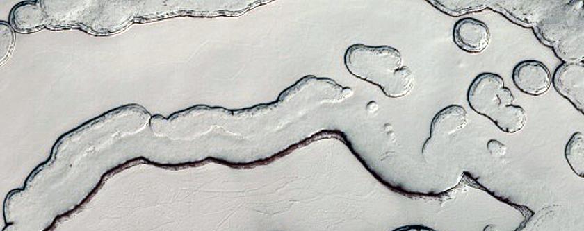 Monitoring Seasonal Albedo Patterns on South Polar Residual Cap
