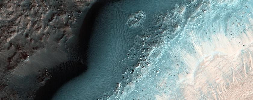 Kaiser Crater Dune Change Detection