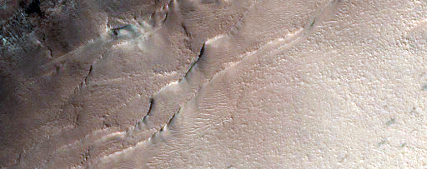 Northern Dunes Covered by Seasonal Dry Ice
