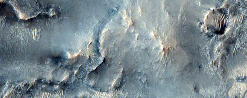 Candidate Landing Site in NE Syrtis Major