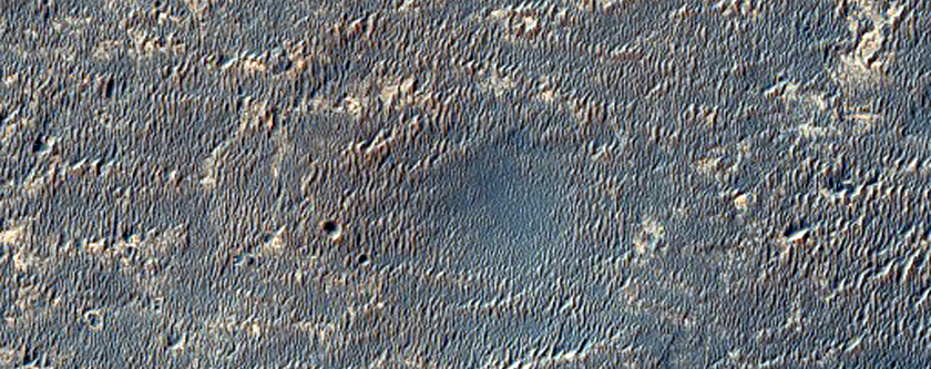 Opportunity at the Edge of Concepcion Crater