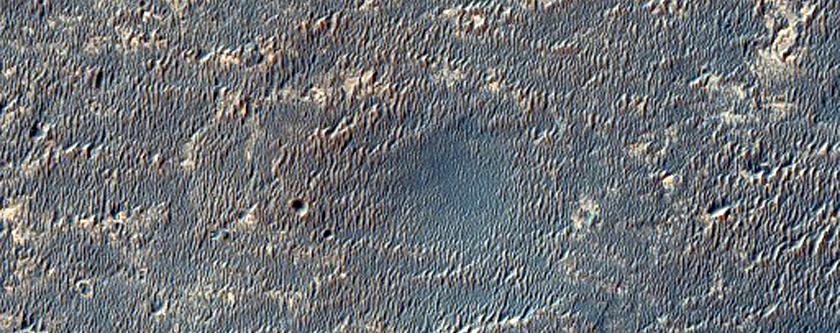 La Opportunity sul bordo del cratere Concepción