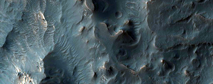 Juventae Chasma Mound and Possible Sulfate-Rich Terrain