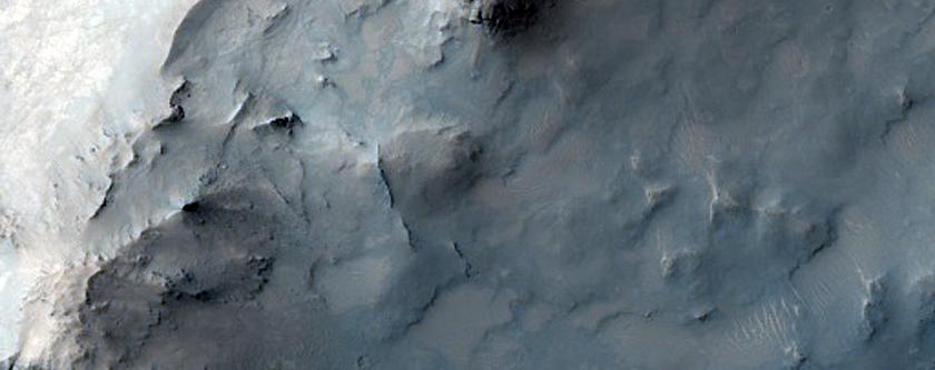 Crater West of Schroeter Crater