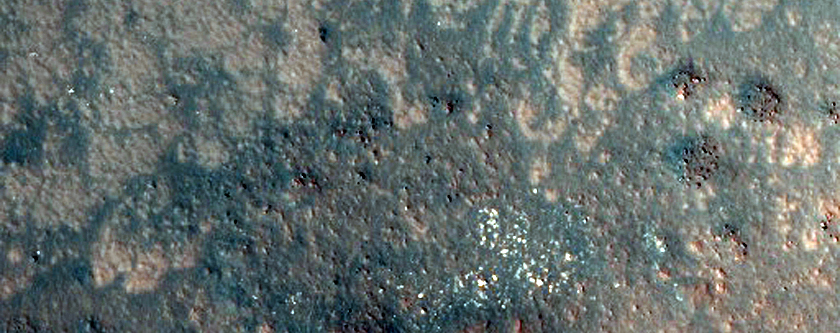 Possible Phyllosilicates in Stokes Crater