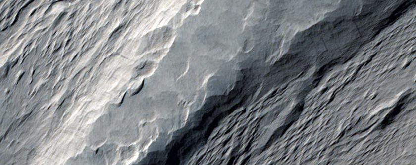 Nicholson Crater Interior