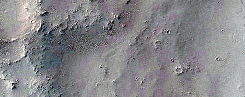 Multiple Channels near Locras Valles