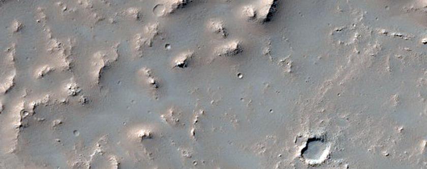 Daedalia Planum Lava Flow Sample