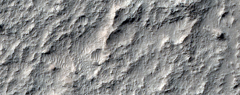 Thermally Distinct Material in Noachis Terra