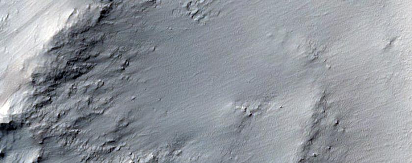 Mangala Fossa Crater