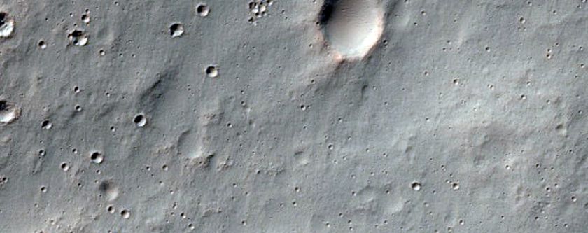 Possible Gullies in Crater Wall