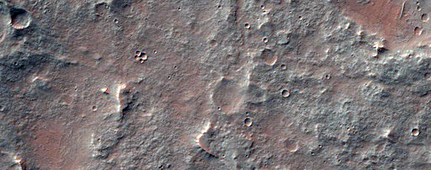 Ridges near Nectaris Fossae