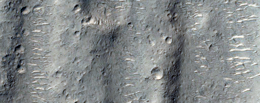 Cutoff Channel in Ares Vallis