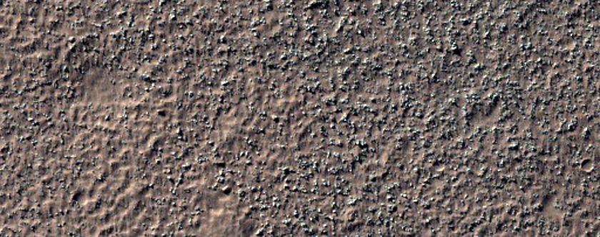 Terrain in Noachis Terra