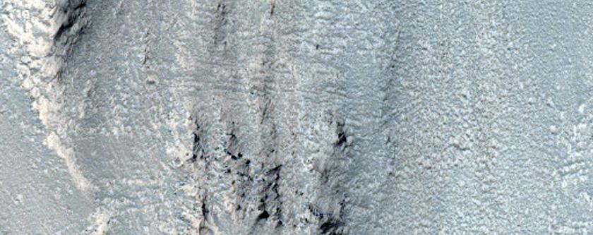 Ius Chasma Wall