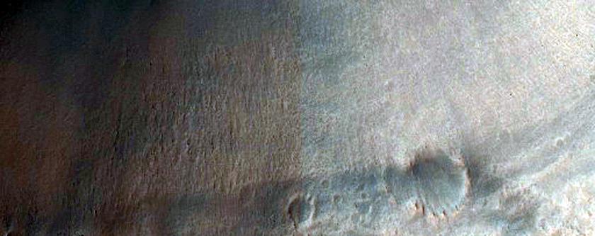 Craters in Sinus Sabaeus