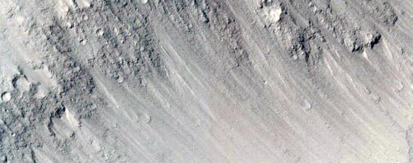 Polyhedral Bedrock Exposures in Elysium Planitia