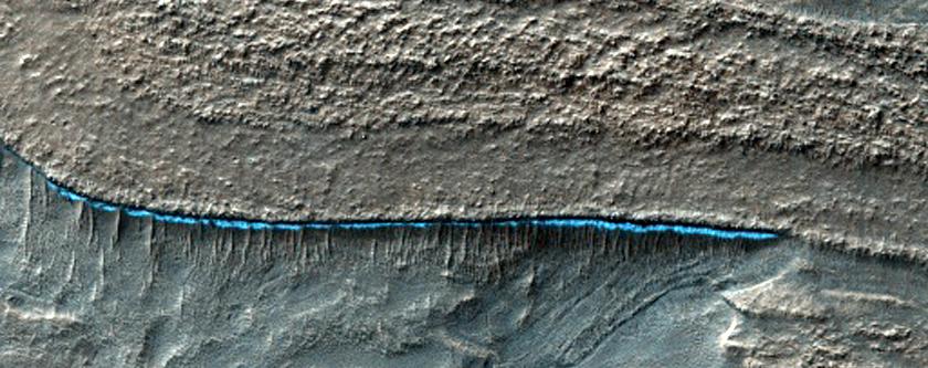 Hellas Planitia Terrain