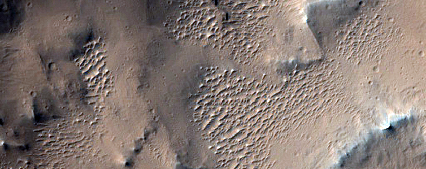 Amazonis Planitia Terrain