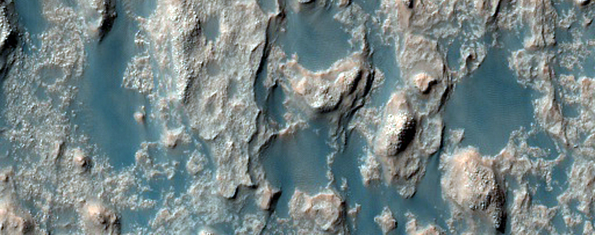 Palos Crater Floor