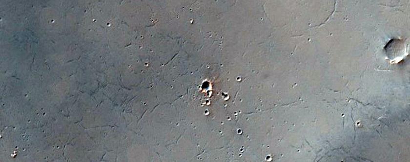 Sinus Sabaeus Region Terrain Sample