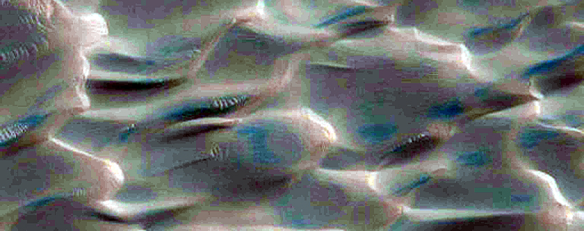 Dune Erosion and Streaks