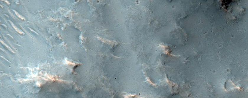 Possible Phyllosilicate-Rich Terrain in Tyrrhena Terra