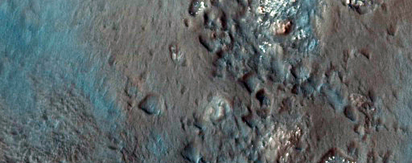 Possible Phyllosilicates in Davies Crater