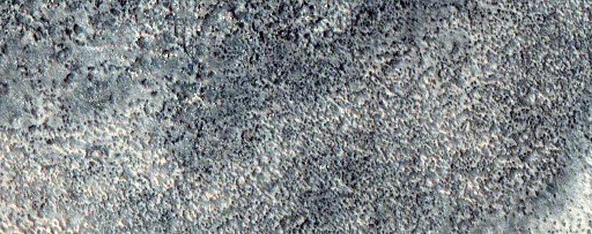 Future Mars Landing Site in Acidalia Mensa