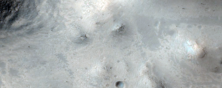 Channel in the Rim of Galilaei Crater