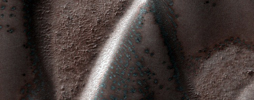 Defrosting Dune Transition and Elongated Barchans