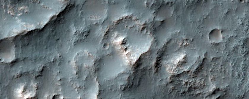 Iron and Magnesium Clays in and near Atlantis Chaos