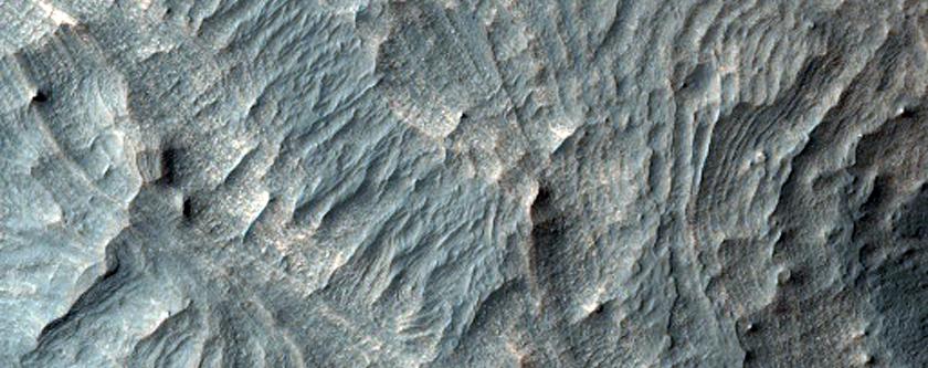 Layered Mound in Melas Region