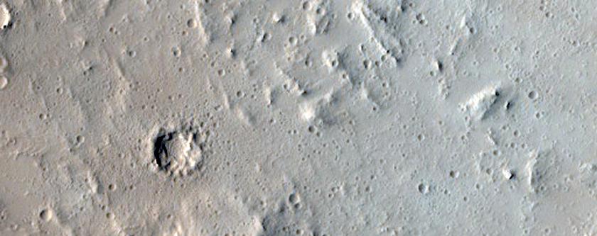 Sample of Terrain in Lycus Sulci