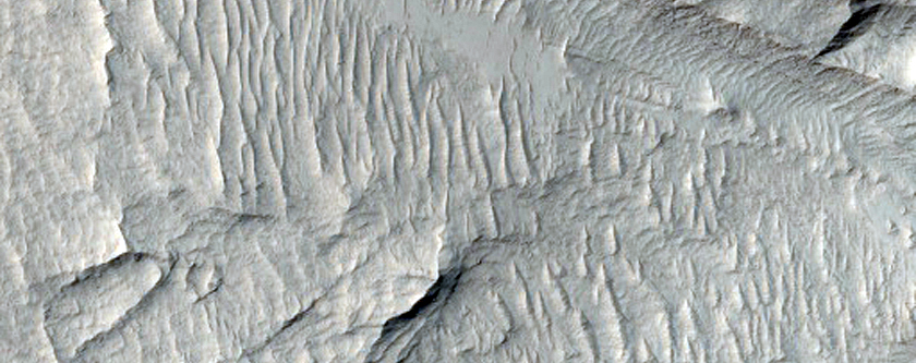 Knobs in East Candor Chasma