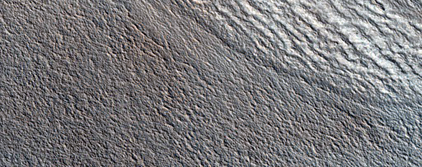 Contact between Rupes Tenuis Scarp and Buried Polygon