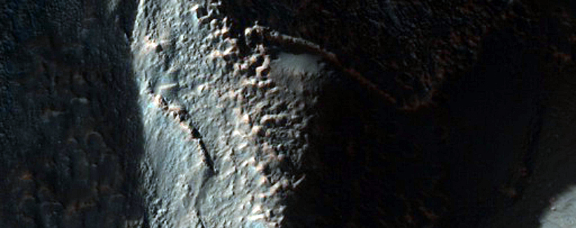 Sample of Layered Mantle in Icaria Planum