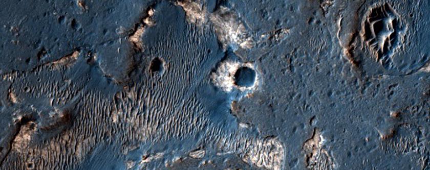 Terrain in Meridiani Planum