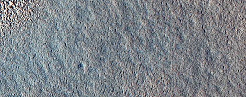 Central Lobate Debris Apron in Deuteronilus Mensae