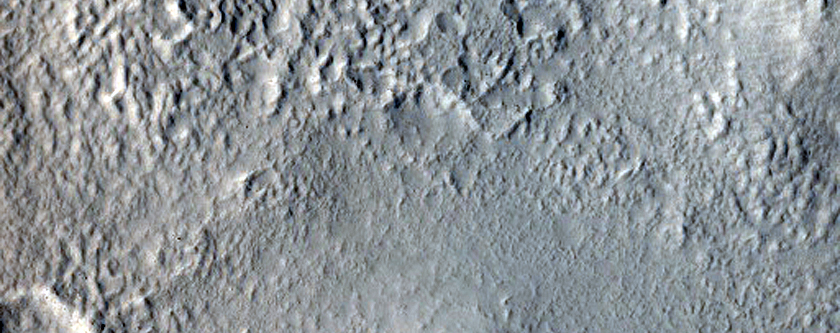 Layered Deposits in Craters in Nilosyrtis Region