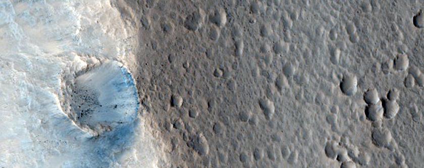 Narrow Reach of Tiu Valles Just North of Masursky Crater