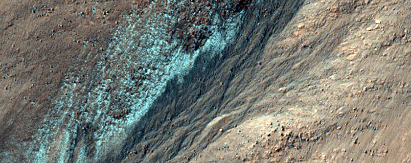 Large Gully in Northern Argyre Planitia