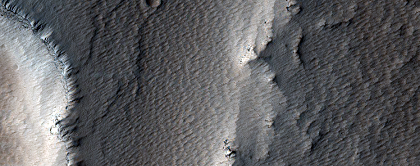 Small Shield in the Noctis Fossae