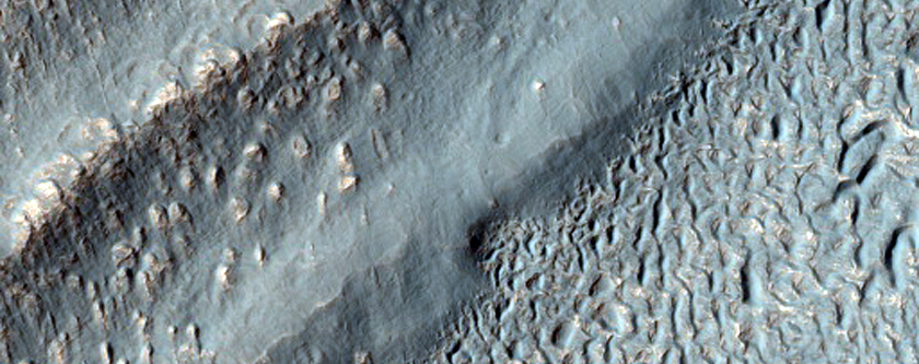 Ice-Rich Lobate Debris Aprons in Promethei Terra