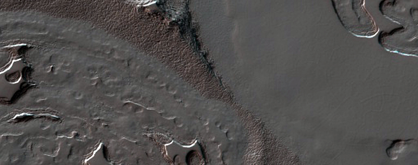 South Pole Residual Cap  Site