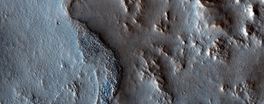 Sinuous Ridges in North Syrtis Major Region