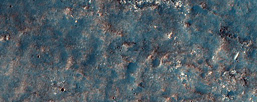 Possible Olivine in Solis Planum