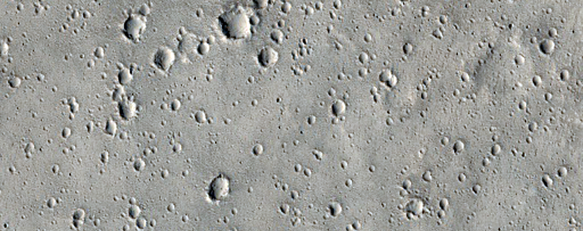 Ray from Gratteri Crater